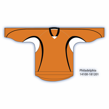 Kamazu 14100 Flexx Lite Team Senior Hockey Jersey - Philadelphia Flyers