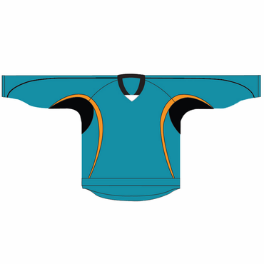 Kamazu 14100 Flexx Lite Team Senior Hockey Jersey - San Jose Sharks