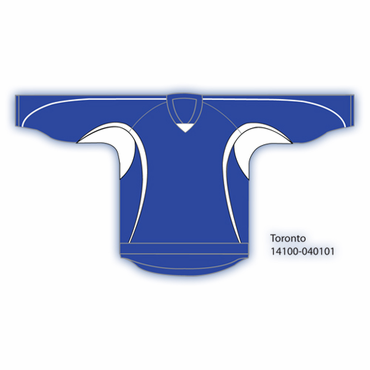 Kamazu 14100 Flexx Lite Team Senior Hockey Jersey - Toronto Maple Leafs