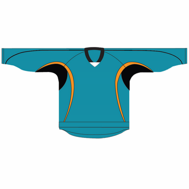 Kamazu 14200 Flexx Lite Team Junior Hockey Jersey - San Jose Sharks