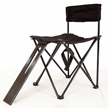 Lace a Skate - Hockey Skate Lacing Folding Chair