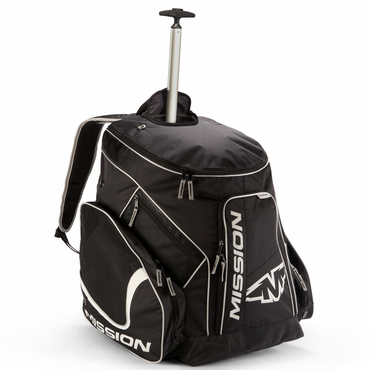 Mission Pro Wheeled Hockey Backpack Bag