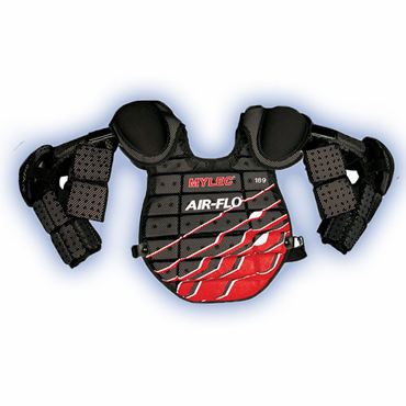 Mylec 189 Air Flo Street Hockey Junior Goalie Chest Protector w/Full Arm Pads