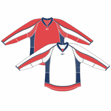 RBK 25P00 Junior NHL Edge Gamewear Hockey Jersey - Washington Capitals