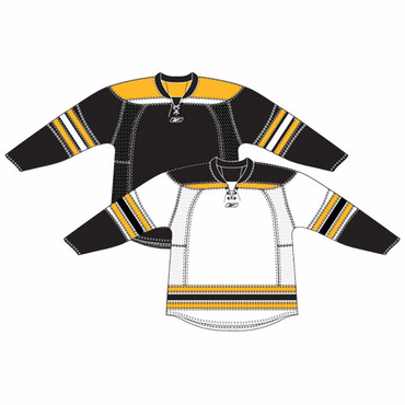 RBK 25P00 NHL Edge Gamewear Hockey Jersey - Boston Bruins