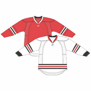 RBK 25P00 NHL Edge Gamewear Hockey Jersey - Chicago Blackhawks