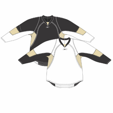 RBK 25P00 NHL Edge Gamewear Hockey Jersey - Pittsburgh Penguins