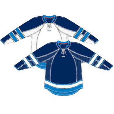 RBK 25P00 NHL Edge Gamewear Hockey Jersey - Winnipeg Jets