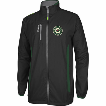 RBK Center Ice Senior Hockey Jacket - Minnesota Wild