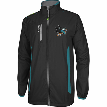 RBK Center Ice Senior Hockey Jacket - San Jose Sharks