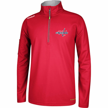 RBK Center Ice Senior Hockey Quarter Zip Jacket - Washington Capitals