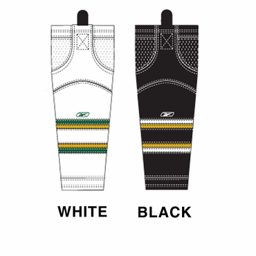 RBK SX100 NHL Edge Intermediate Hockey Socks - Dallas Stars
