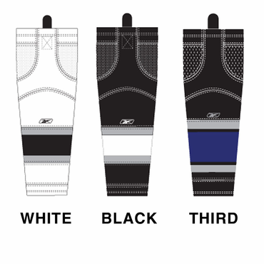 RBK SX100 NHL Edge Intermediate Hockey Socks - Los Angeles Kings