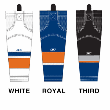 RBK SX100 NHL Edge Intermediate Hockey Socks - New York Islanders