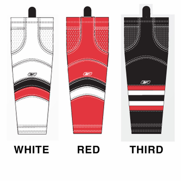 RBK SX100 NHL Edge Intermediate Hockey Socks - Ottawa Senators