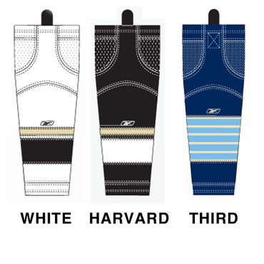RBK SX100 NHL Edge Intermediate Hockey Socks - Pittsburgh Penguins