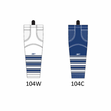 RBK SX100 NHL Edge Intermediate Hockey Socks - Toronto Maple Leafs