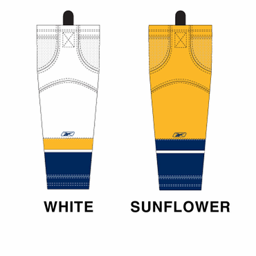 RBK SX100 NHL Edge Junior Hockey Socks - Nashville Predators