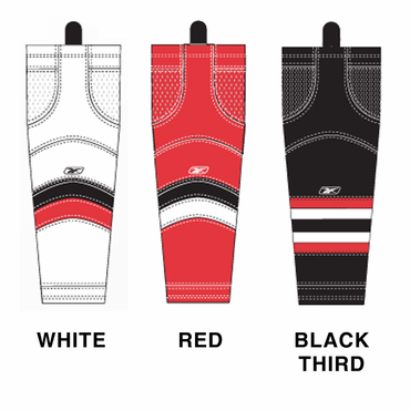 RBK SX100 NHL Edge Junior Hockey Socks - Ottawa Senators