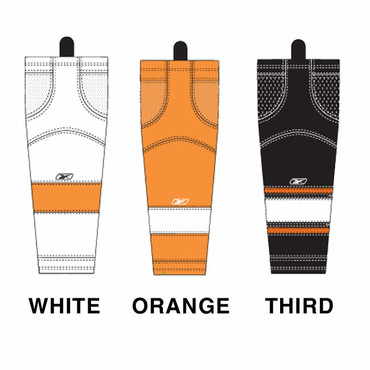 RBK SX100 NHL Edge Junior Hockey Socks - Philadelphia Flyers