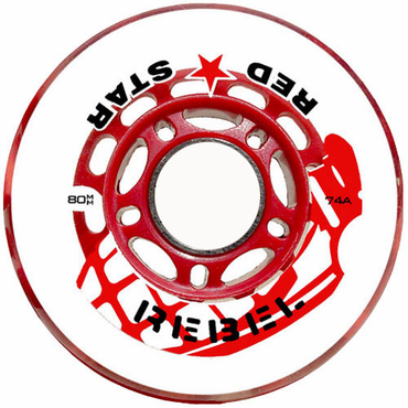 Red Star Rebel Indoor Inline Hockey Wheels