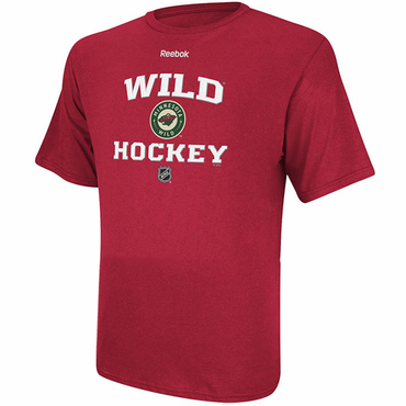 Reebok Center Ice R200 Senior Short Sleeve Hockey Shirt - Minnesota Wild