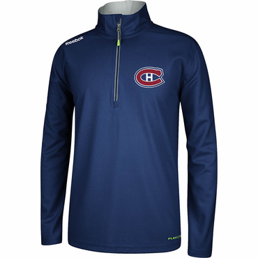 Reebok Center Ice Senior Hockey Quarter Zip Jacket - Montreal Canadiens
