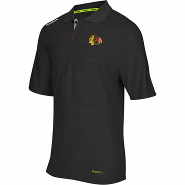 Reebok Center Ice Senior Polo - Chicago Blackhawks