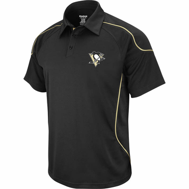 Reebok Center Ice Senior Polo - Pittsburgh Penguins