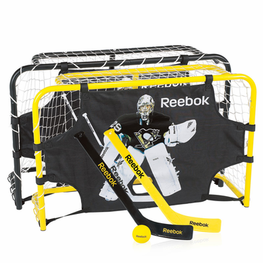 Reebok Deluxe Steel Mini Hockey Set - Fleury