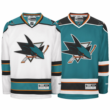 Reebok Edge Premier Senior Hockey Jersey - San Jose Sharks - 2013-2014
