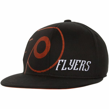 Reebok Flat Visor Flex Fit Senior Hat - Philadelphia Flyers
