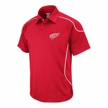 Reebok Flux 2.0 Senior Polo - Detroit Red Wings