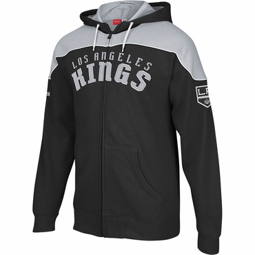 Reebok NHL Senior Full Zip Hoody - Los Angeles Kings