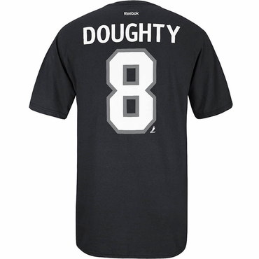 Reebok Player Senior Short Sleve Hockey Shirt - Los Angeles Kings - Doughty