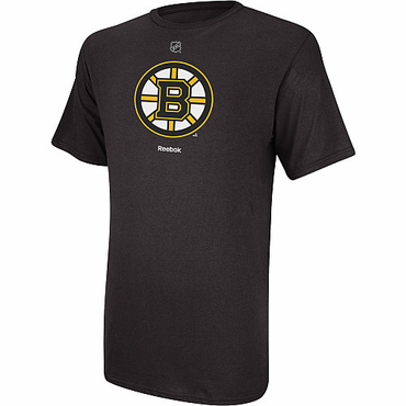 Reebok Primary Logo Senior Short Sleeve Shirt - Boston Bruins