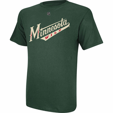 Reebok Replica Senior Short Sleeve Shirt - Minnesota Wild - Clutterbuck