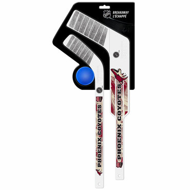 Sherwood Breakaway 3 Piece Mini Goalie & Player Stick with Foam Ball - Phoenix Coyotes