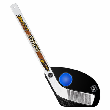 Sherwood Hat Trick 2 Piece Mini Player Stick with Foam Ball - Anaheim Ducks