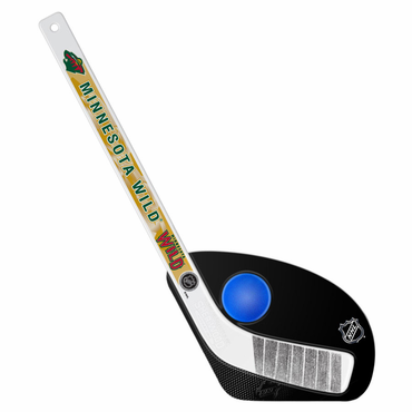 Sherwood Hat Trick 2 Piece Mini Player Stick with Foam Ball - Minnesota Wild