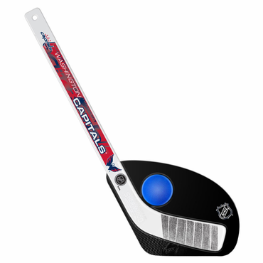 Sherwood Hat Trick 2 Piece Mini Player Stick with Foam Ball - Washington Capitals