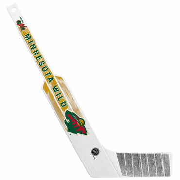 Sherwood NHL Mini Goalie Plastic Stick - Minnesota Wild