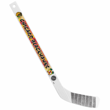 Sherwood NHL Mini Player Plastic Stick - Chicago Blackhawks