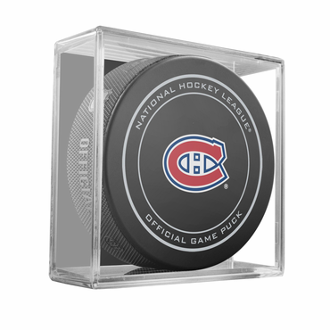 Sherwood NHL Official Game Puck - Montreal Canadiens
