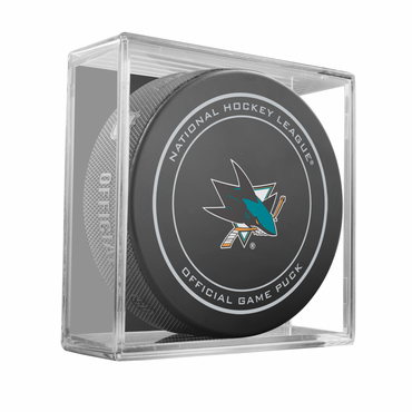 Sherwood NHL Official Game Puck - San Jose Sharks