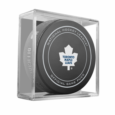 Sherwood NHL Official Game Puck - Toronto Maple Leafs