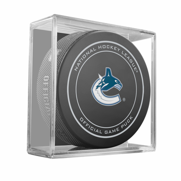 Sherwood NHL Official Game Puck - Vancouver Canucks