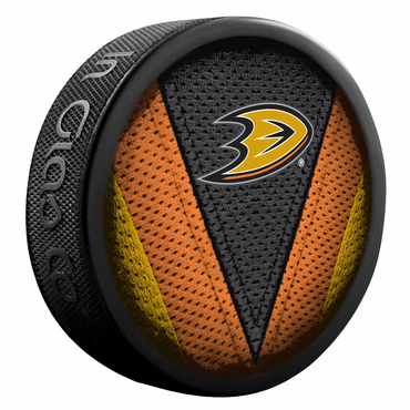 Sherwood NHL Stitch Souvenir Puck - Anaheim Ducks