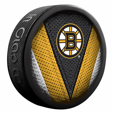 Sherwood NHL Stitch Souvenir Puck - Boston Bruins