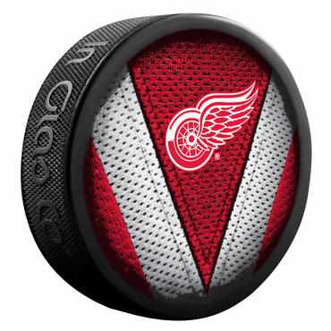 Sherwood NHL Stitch Souvenir Puck - Detroit Red Wings
